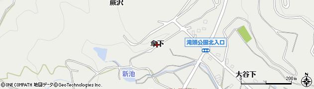 愛知県田原市田原町(傘下)周辺の地図
