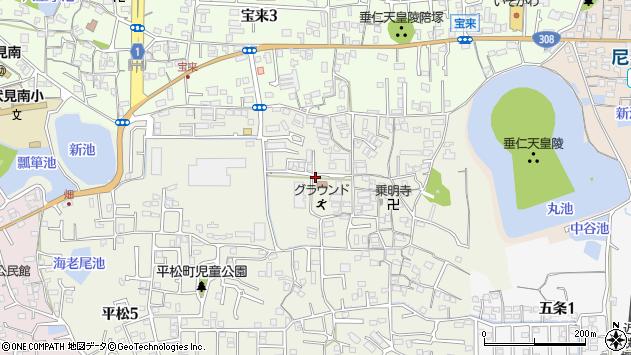〒631-0846 奈良県奈良市平松の地図