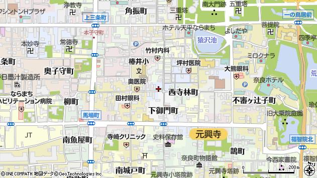 〒630-8371 奈良県奈良市光明院町の地図