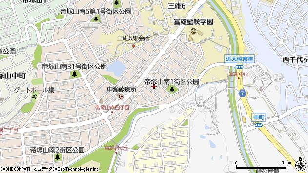 〒631-0064 奈良県奈良市帝塚山南の地図