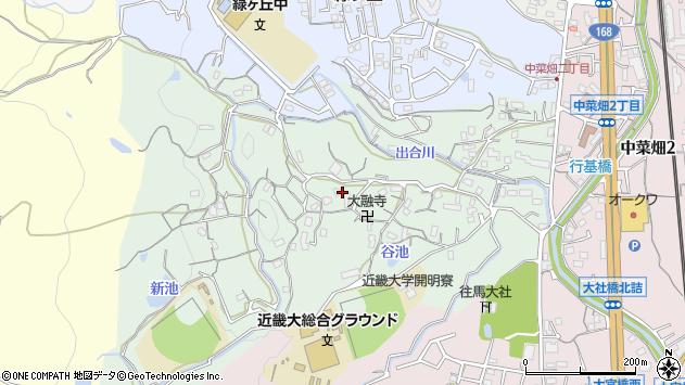 〒630-0264 奈良県生駒市西菜畑町の地図