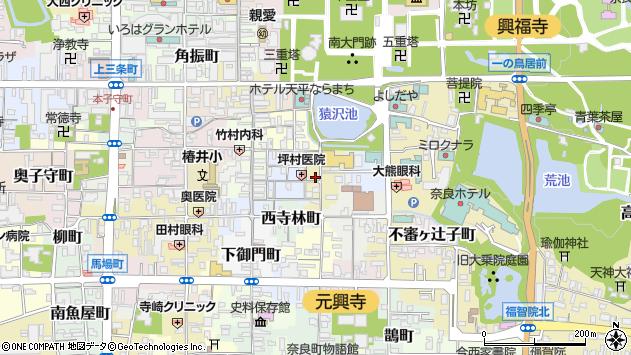 〒630-8374 奈良県奈良市今御門町の地図