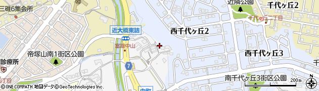 奈良県奈良市中町2281周辺の地図