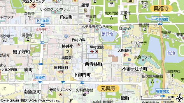 〒630-8373 奈良県奈良市南市町の地図