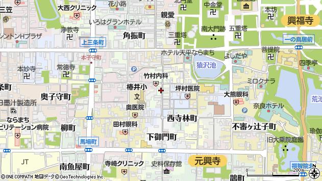 〒630-8222 奈良県奈良市餅飯殿町の地図