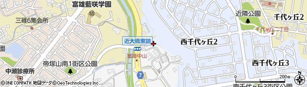 奈良県奈良市中町2274周辺の地図