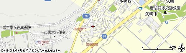愛知県田原市吉胡町(木綿畑)周辺の地図