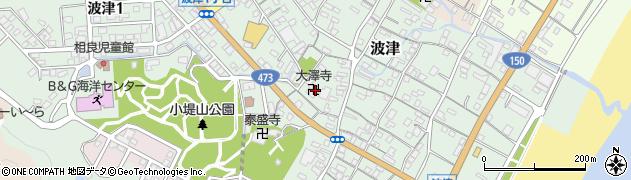 大澤寺周辺の地図