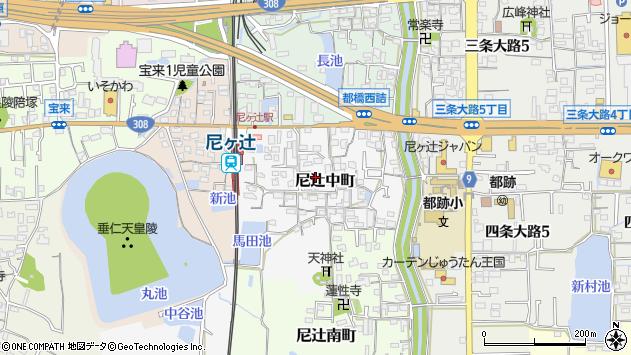 〒630-8024 奈良県奈良市尼辻中町の地図