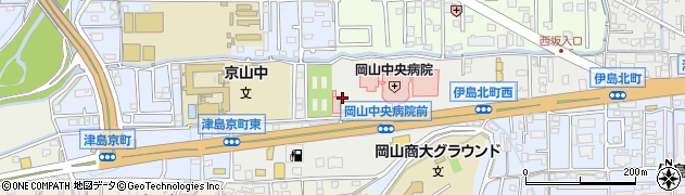 岡山県岡山市北区伊島北町周辺の地図