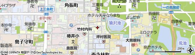奈良県奈良市元林院町31周辺の地図