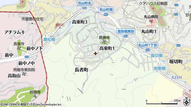 〒653-0867 兵庫県神戸市長田区高東町の地図