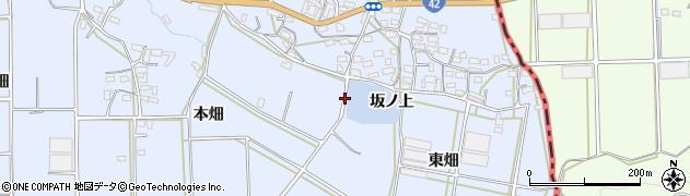 愛知県豊橋市東細谷町(坂ノ上)周辺の地図