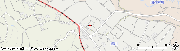 静岡県牧之原市鬼女新田周辺の地図