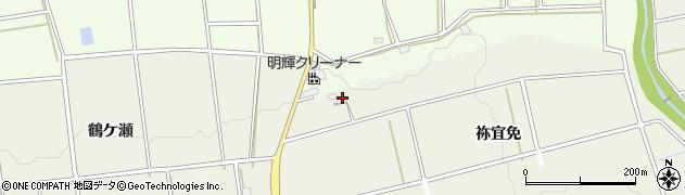 愛知県豊橋市高塚町(祢宜免)周辺の地図