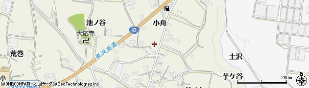 愛知県豊橋市小島町(小舟)周辺の地図