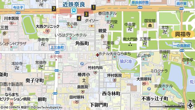 〒630-8217 奈良県奈良市橋本町の地図