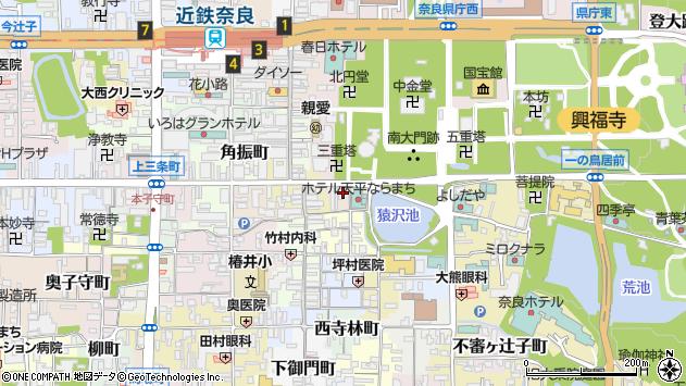 〒630-8218 奈良県奈良市樽井町の地図