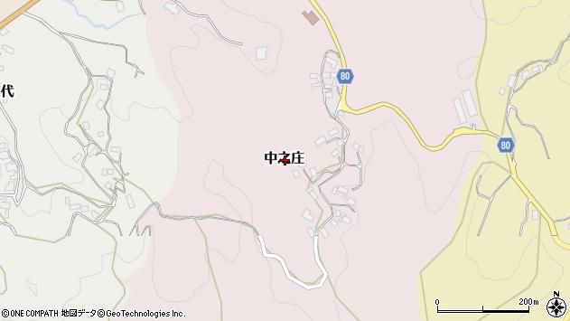 〒630-2352 奈良県山辺郡山添村中之庄の地図