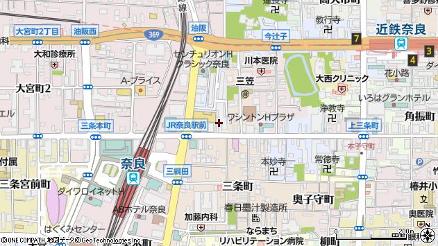 〒630-8246 奈良県奈良市油阪地方町の地図