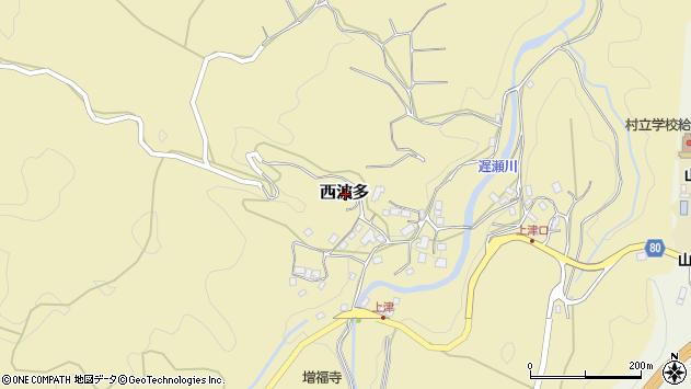 〒630-2346 奈良県山辺郡山添村西波多の地図