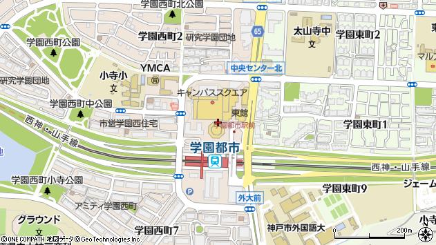 〒651-2103 兵庫県神戸市西区学園西町の地図