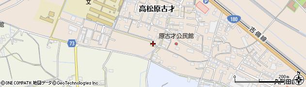 岡山県岡山市北区高松原古才周辺の地図