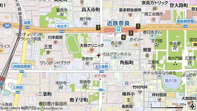 〒630-8227 奈良県奈良市林小路町の地図