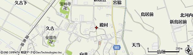 愛知県豊橋市杉山町(殿村)周辺の地図