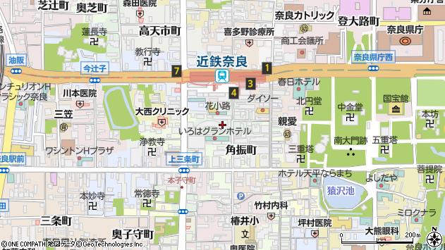 〒630-8226 奈良県奈良市小西町の地図