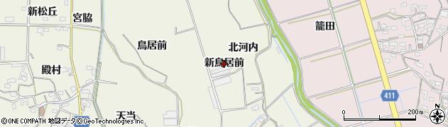愛知県豊橋市杉山町(新鳥居前)周辺の地図