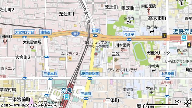 〒630-8247 奈良県奈良市油阪町の地図