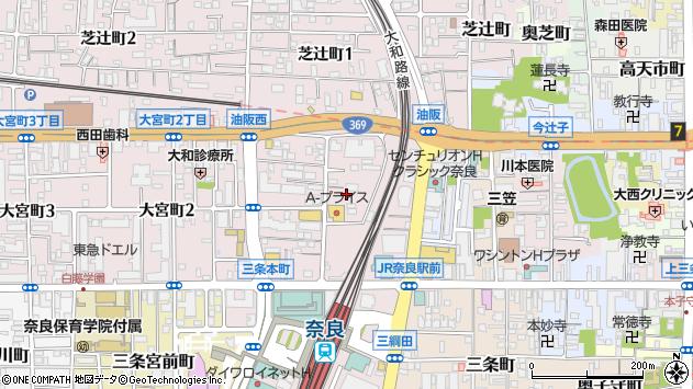 〒630-8115 奈良県奈良市大宮町の地図