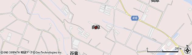愛知県豊橋市老津町(南原)周辺の地図