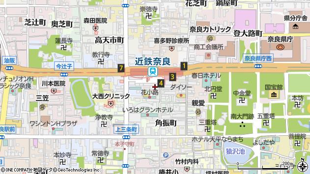 〒630-8225 奈良県奈良市西御門町の地図