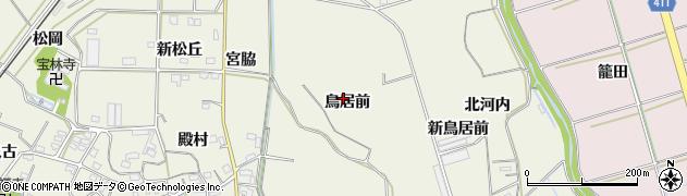 愛知県豊橋市杉山町(鳥居前)周辺の地図