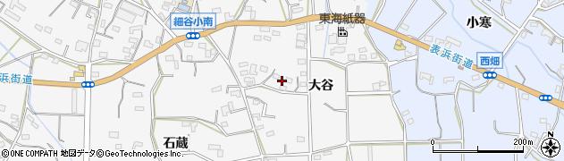 愛知県豊橋市細谷町(大谷)周辺の地図