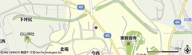 愛知県豊橋市小松原町(坪尻)周辺の地図
