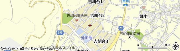 愛知県田原市吉胡台周辺の地図