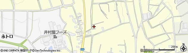 愛知県豊橋市東七根町(中井領)周辺の地図