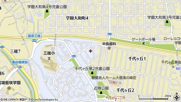 〒631-0046 奈良県奈良市西千代ケ丘の地図