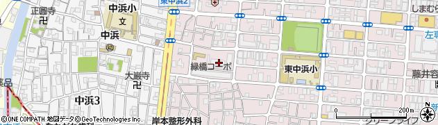緑橋コーポ周辺の地図