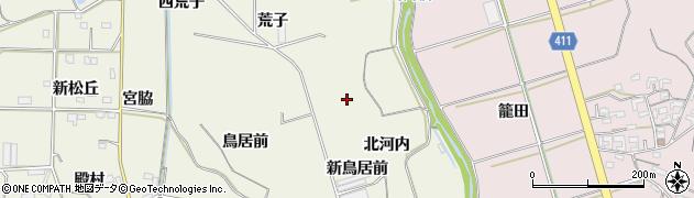 愛知県豊橋市杉山町(北河内)周辺の地図