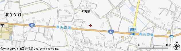 愛知県豊橋市細谷町周辺の地図