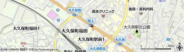 田上周辺の地図