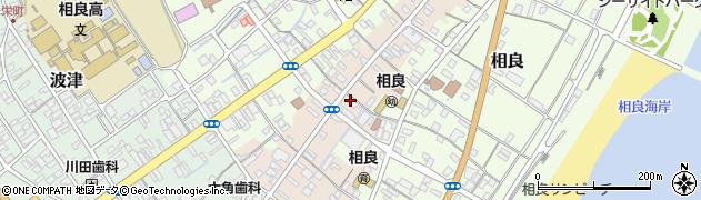 静岡県牧之原市福岡周辺の地図