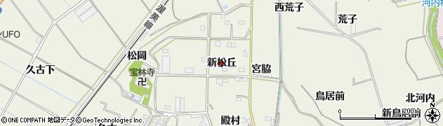 愛知県豊橋市杉山町(新松丘)周辺の地図