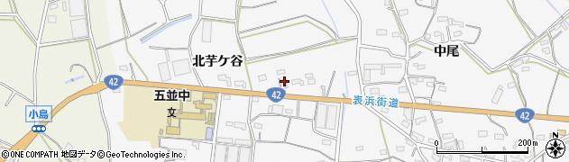 愛知県豊橋市細谷町(北芋ケ谷)周辺の地図