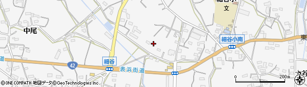 愛知県豊橋市細谷町(坂東堀)周辺の地図