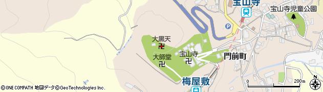 大黒堂周辺の地図